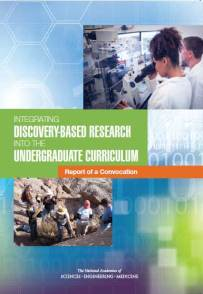 Integrating Discovery Based Research convocation report cover